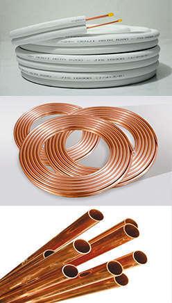 Distributor Pipa AC, Insulation, Freon AC, Fitting Tembaga, Sparepart AC